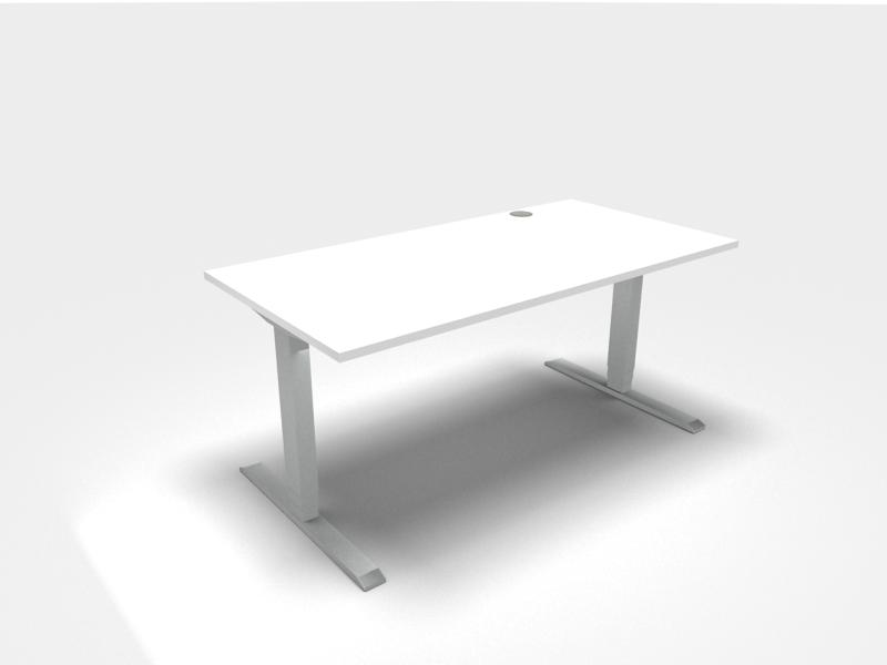 Ergonomisches Arbeiten - höhenverstellbarer Schreibtisch